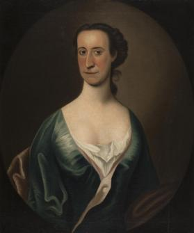 Portrait of Ann Beach Johnson