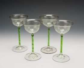 Wine Glasses (Set of Nineteen)