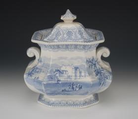 """American Cities and Scenery: Utica"" Sugar Bowl"