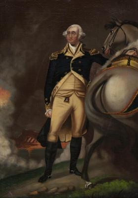 Portrait of Washington at Dorchester Heights