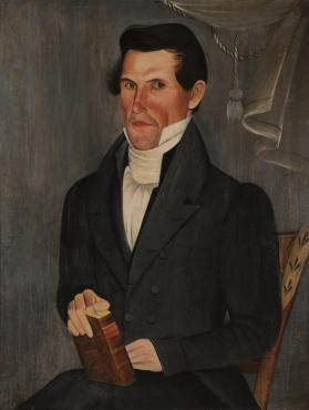 Portrait of a Gentleman Holding a Bible