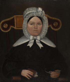 Portrait of Mary (Browning) Crandall