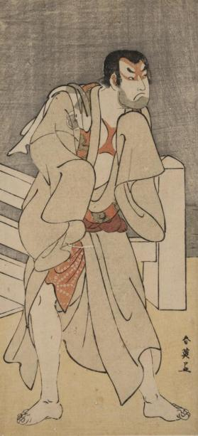The Actor Sakata Hangoro III as Gwantetsu