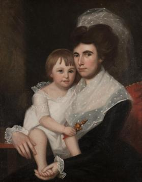 Portrait of Mrs. James Watson and Her Son, James Talcott