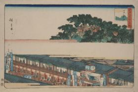Matsuchi Hill (from Famous Views of Edo)