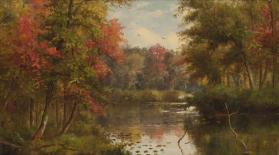 Autumn on the Tioughnioga, Preble, Cortland County, New York