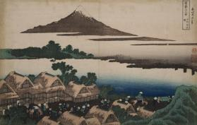 Dawn at Izawa in Kai Province (from Thirty-Six Views of Mount Fuji)