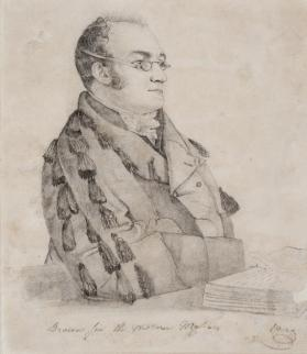 Portrait of the Reverend Elijah Slack