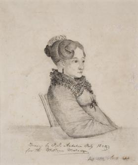 Portrait of Mrs. Elijah Slack