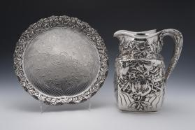 Water Pitcher and Tray