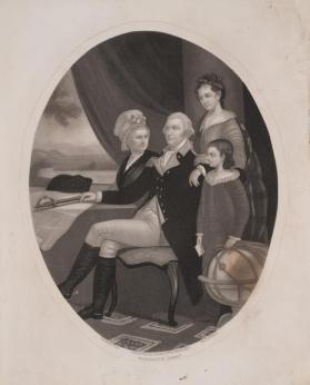 Portrait of the Washington Family