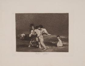 The Disasters of War:  Plate 50:  Unfortunate Mother!