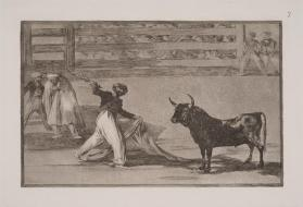 Bull Fights: Plate 7: Introduction of the Bandillero