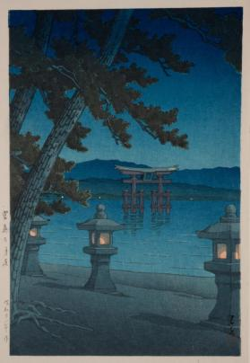 Night at Miyajima