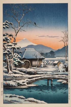 Daybreak at Hara on the Tokaido