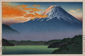 Fuji at Sunset