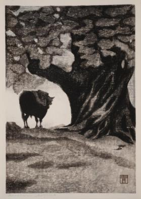 Ox Under a Tree