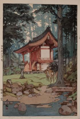 Temple in the Wood