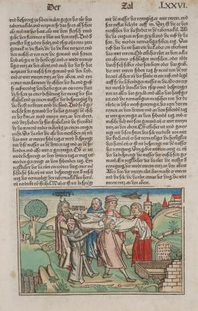 The Burial of Aaron (Numbers 20:29) [from the Nuremberg Bible of 1483]
