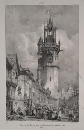 The Large Clock Tower, Evreux