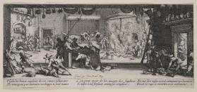 The Pillaging of a Farm (Plate 5 from the set of eighteen:  The Miseries of War