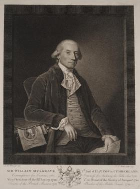 Portrait of Sir William Musgrave