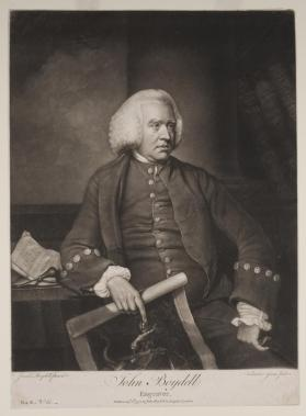 Portrait of John Boydell