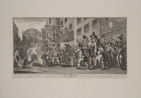 Hudibras: Burning Rumps at Temple Barr