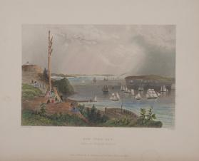 New York Bay (from the Telegraph Station)