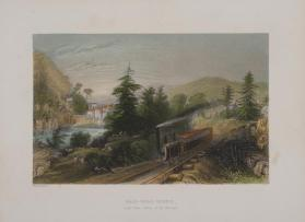 Rail-Road Scene (Little Falls, Valley of the Mohawk)