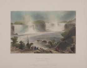 Niagara Falls (From Near Clifton House)