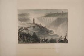 The Horse Shoe Fall, Niagara--with the Tower
