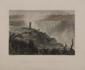 The Horse Shoe Fall, Niagara- With the Tower