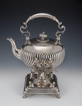 Teapot with Warming Stand