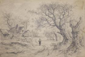 Figure in a Country Lane