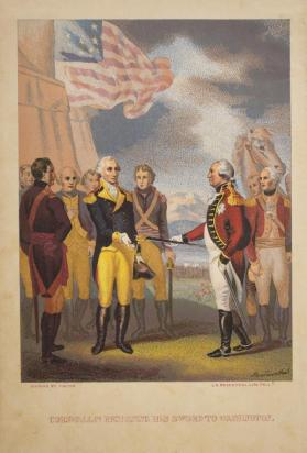 Cornwallis Presenting His Sword to Washington