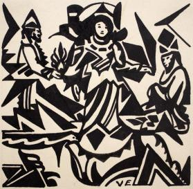 Untitled (Three Figures)