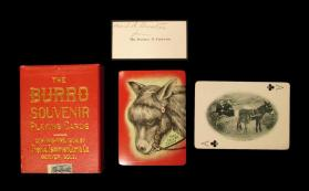 The Burro Souvenir Playing Cards