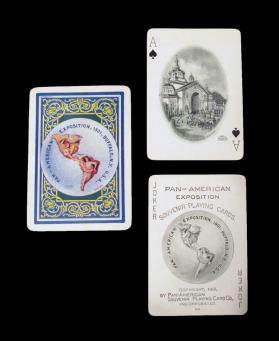 Official Pan-American Exposition Souvenir Playing Cards