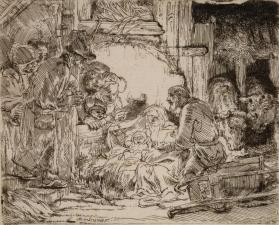 The Adoration of the Shepherds (with the Lamp)