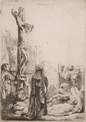 The Crucifixion (small plate)