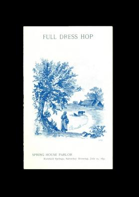 Full Dress Hop (July 15, 1893)