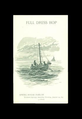 Full Dress Hop, Spring House, Richfield Springs (August 20, 1892)