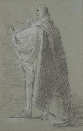 "Study for the ""Death of the Earl of Chatham"": The Duke of Richmond"
