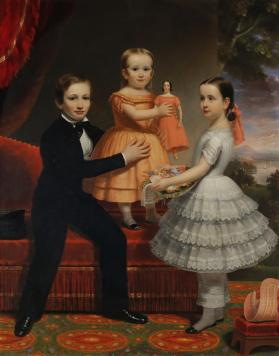 Edward, Julie and Mary Ames Hitchcock