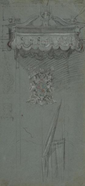 Study for the Canopy of the House of Lords