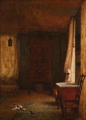 The Bedroom of Thomas Whittredge, Riverton, Rhode Island