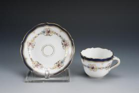 Demitasse Cups and Saucers (Set of Twelve)