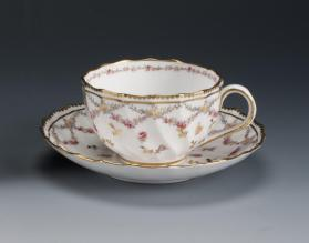 Cups and Saucers (Set of Twelve)