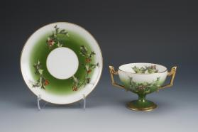 Bouillon Cups and Saucers (Set of Twenty-four)